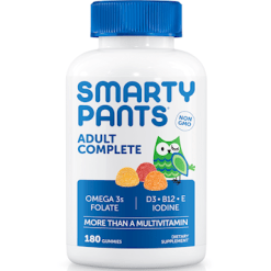 SmartyPants Vitamins Adult Complete 180 gummies S04002