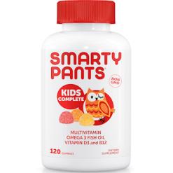 SmartyPants Vitamins Kids Complete 120 gummies S04019