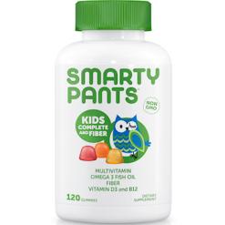 SmartyPants Vitamins Kids Complete Fiber 120 gummies S04071