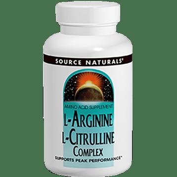 Source Naturals L Arginine L Citrulline Complex 120tabs SN2043