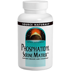 Source Naturals PhosphatidylSerine Matrix 500mg 60 gels SN1968