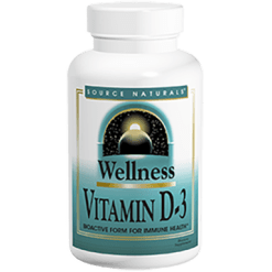 Source Naturals Vitamin D 3 1000 IU 200 tablets SN1792