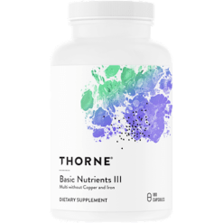 Thorne Research Basic Nutrients III 180 vegcaps T06060