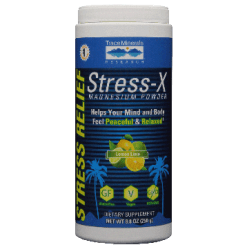 Trace Minerals Research Stress X Magnesium Lemon Lime 8.8 oz T02748