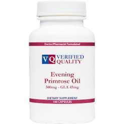 Verified Quality Evening Primrose Oil 500 mg 100 gels EPO52