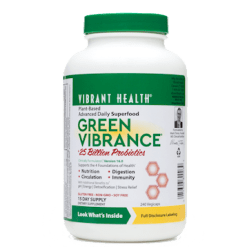 Vibrant Health Green Vibrance 240 vegcaps VB0039