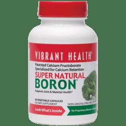 Vibrant Health Super Natural Boron 60 vegcaps VB0367