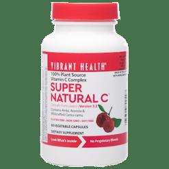 Vibrant Health Super Natural C 60 vegcaps VB0497