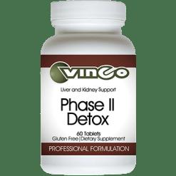 Vinco Phase II Detox 60 tablets FILTE