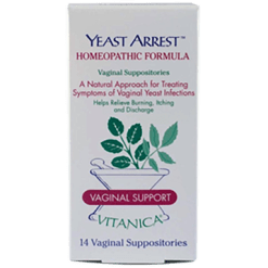 Vitanica Yeast Arrest 14 suppositories YEAST
