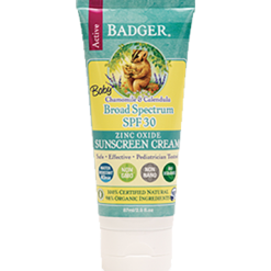 W.S. Badger Company Baby Sunscreen Cream SPF 30 2.9 oz B75005