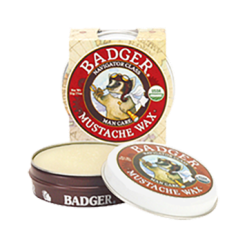 W.S. Badger Company Mustache Wax .75 oz B30003
