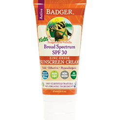 W.S. Badger Company Zinc Oxide Kids Sunscreen SPF 30 2.9 fl oz B78013