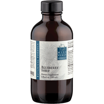 Wise Woman Herbals Blueberry Syrup 4 oz BLU20