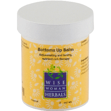 Wise Woman Herbals Bottoms Up Balm 2 oz BOTT3