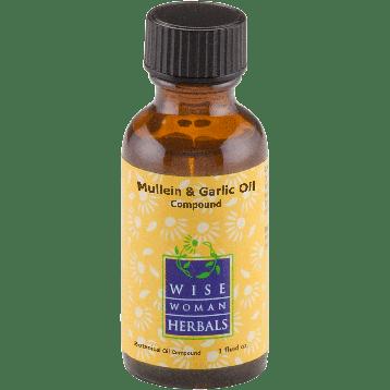 Wise Woman Herbals Mullein amp Garlic Oil Compound 1 oz MUL42