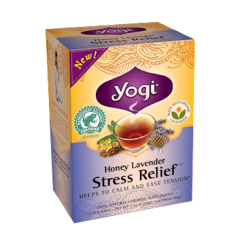 Yogi Teas Honey Lavender Stress Relief 16 bags Y20454