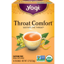 Yogi Teas Throat Comfort 16 bags Y45018