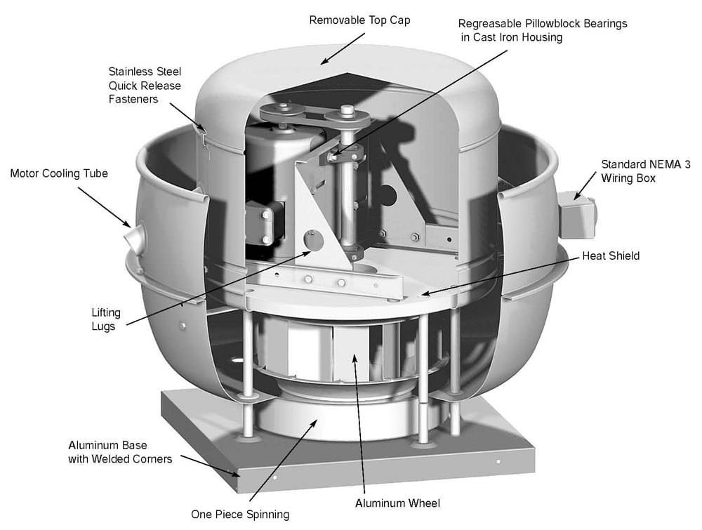 exhaust fan accessories hinge kits