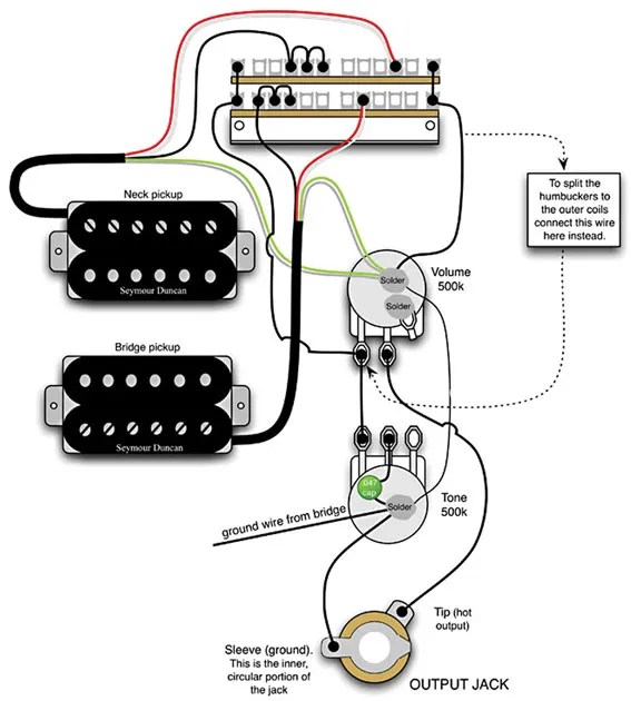 double neck guitar wiring diagram - Wiring Diagram