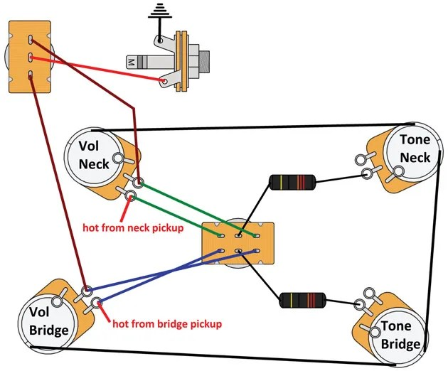 Mod Garage: Switchable ModernRetro Les Paul Wiring