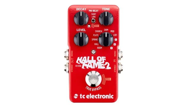 Cool red pedal