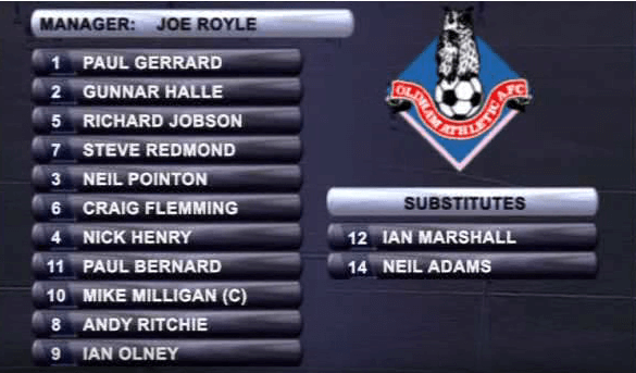 Oldham Athletic Team 1993