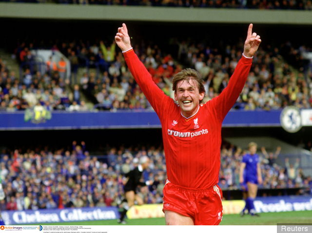 Kenny Dalglish Celebrating
