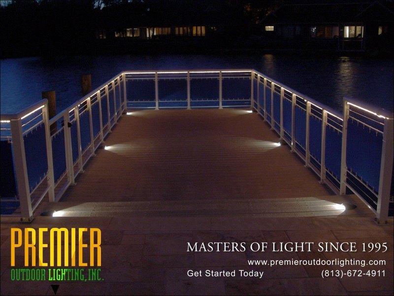 led dock lighting palm harbor premier