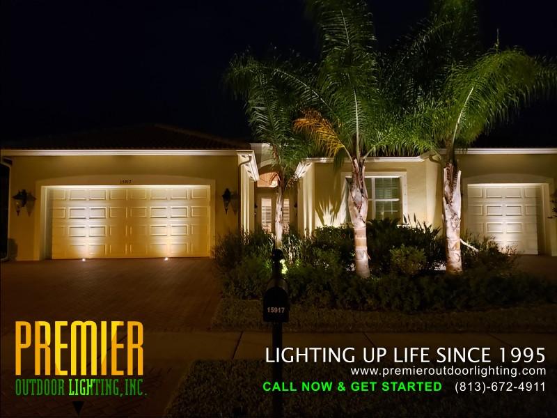 tampa landscape lighting installer