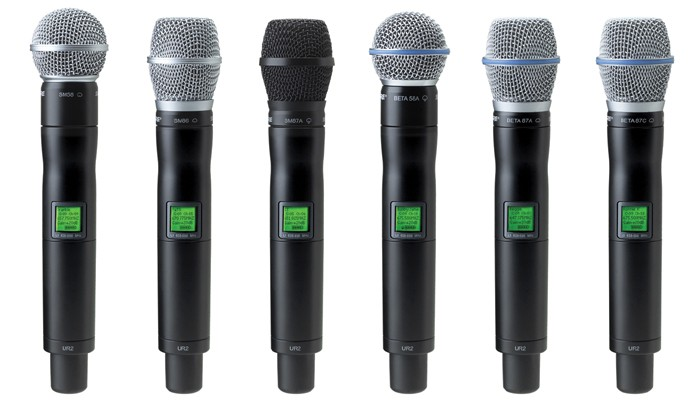 Shure-Wireless-Mics