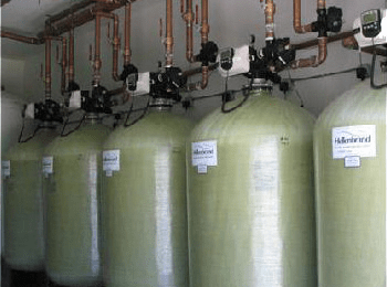commercial iron curtain filter systems