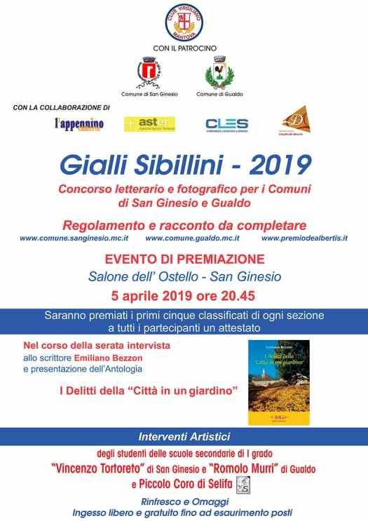 Gialli Sibillini 2019