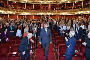 El S.M. el rey Felipe VIII preside los VIII Premios Noviasalcedo