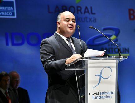 """Diego Echegoyen: """"El Premio pone en relieve el optimismo y el compromiso hacia los jóvenes"""""""