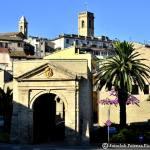 La porta storica di Potenza Picena che guarda verso Macerata