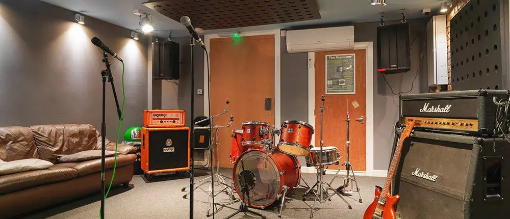 Rehearsal studios in London