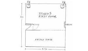 Studio 5 layout drawing