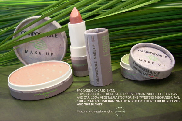 Biodegradable Containers Cosmetics