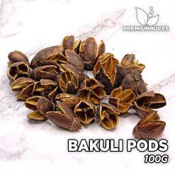 Bakuli Pods 100g Hojas y botánicos para acuario.