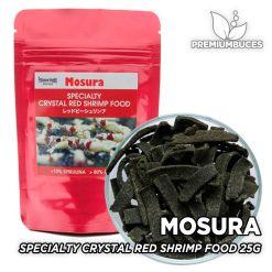 MOSURA Specialty Crystal Red Shrimp Food 25g Comida para Gambas