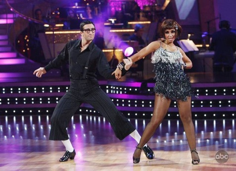 Mya is a perfect 1o on 'DWTS' with Dmitry