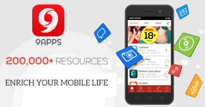 9apps Alternative App Store App For Android to Google Play Store- Download Paid App Free