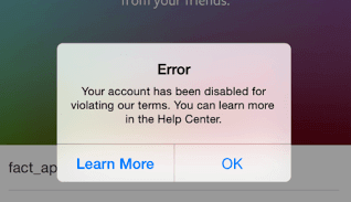 How to restore disabled instagram account back premiuminfo restore banned instagram account ccuart Gallery