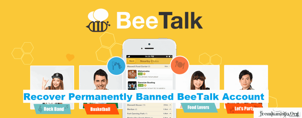 Recover Permanently Banned BeeTalk Account