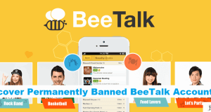How To Recover Permanently Banned BeeTalk Account