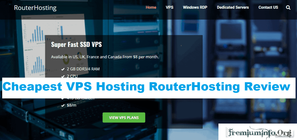 cheapest vps hosting routerhosting review