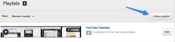 New Youtube Playlist Link