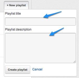 YT Playlist Name Descriptioin