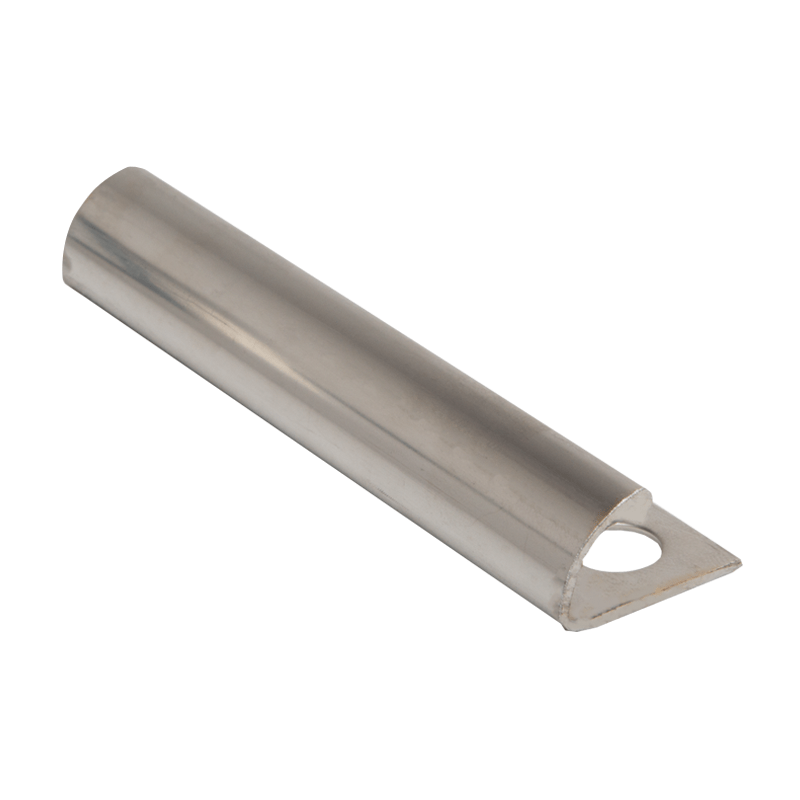 stainless steel tile trim leading